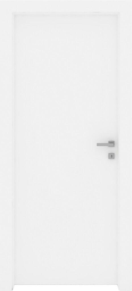 Porta linea reversibile con finitura bianco liscio