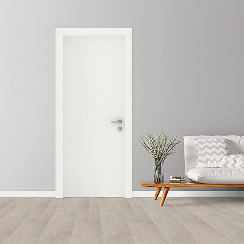 porta linea top con finitura in laccato bianco opaco