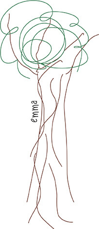 Disegno albero di emma
