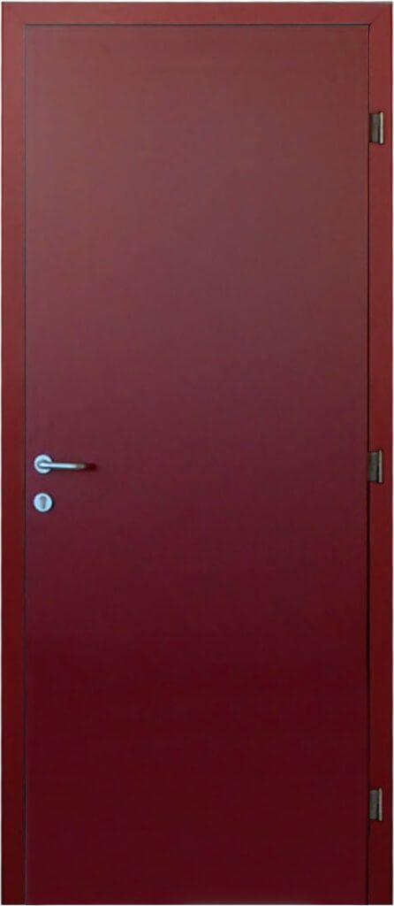 porta con stipite in alluminio