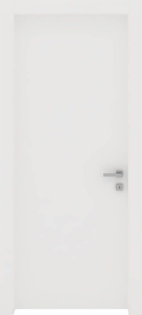 porta linea top con finitura in bianco liscio